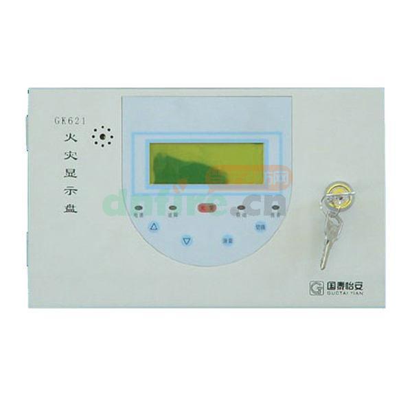 gk621火灾显示盘 国泰怡安 价格 安装 资料_当宁消防.