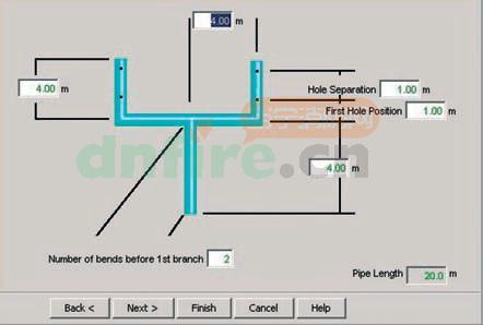 icam极早期火灾探测采样管网设计软件aspire2设计步骤