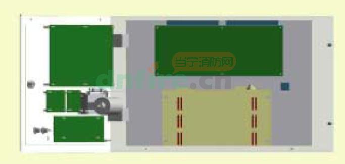 柜式控制器内部结构图