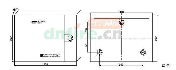 ld4800e-a结构与安装尺寸图