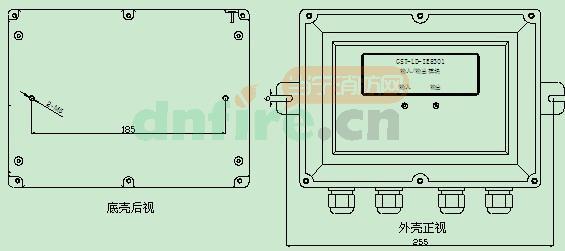 用于d11,d12电源的分线; nc1,no1,com1:继电器无源常闭常开输出端子