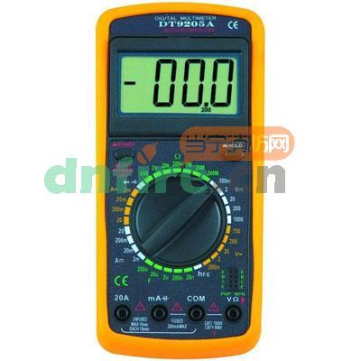 一般万用表可测量直流电流