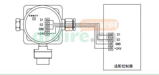 jtq-aec2232型可燃气体探测器结构特征与安装接线