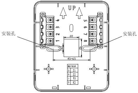 GST-QKP01外接端子示意图
