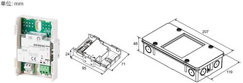 FDCI221-CN输入模块尺寸展示