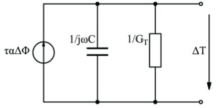 热释电传感器等效电路