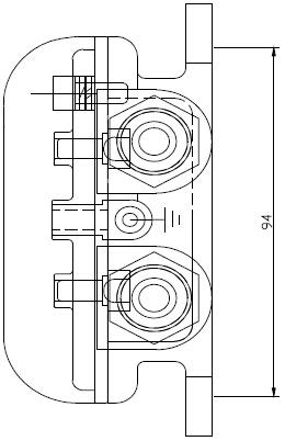 -XAPD-02A-B防爆消火栓按钮结构示意图