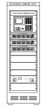 JB-TG-SL-M5000柜式消防报警 主机控制器外形结构图