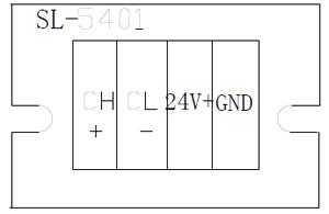 SL-5401火灾显示盘端子图