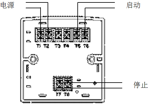 jb-bk8020紧急启停按钮接线指导