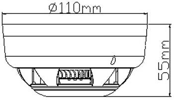 SH-BK2D-S点型光电感烟火灾探测器