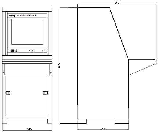 HW-C-60W-N100外形结构尺寸
