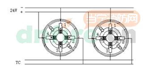 132A煤制气可燃气体探测器接线图-JQB HX2132A煤制气可燃气体探图片