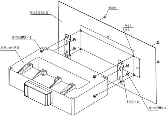 DH-GSTN5300/12F传感器安装示意图