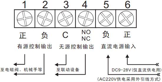 体探测器安装接线