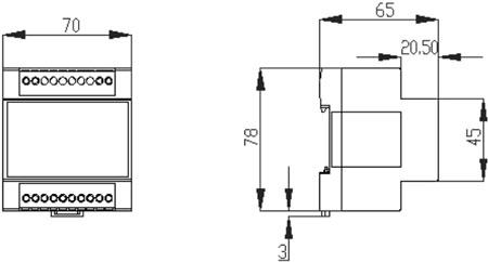 usc6526六路单相交流电压传感器