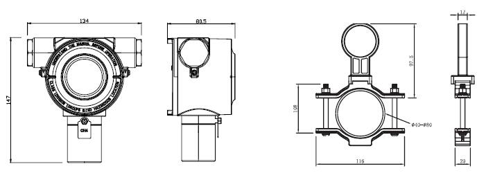 d630点型可燃气体探测器