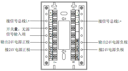 gm612b信号转换接口主要技术指标