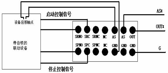 gm651脉冲控制接线法示例