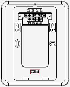 TX3985 底座接线图