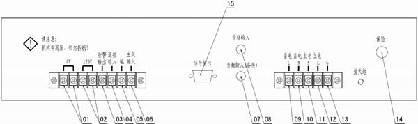 yjg4330aak广播功放盘接线说明
