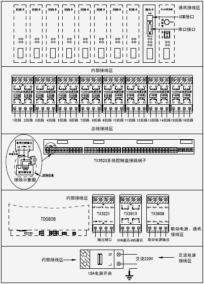 JB-QGL-TX3016A火灾报警控制器(联动型)