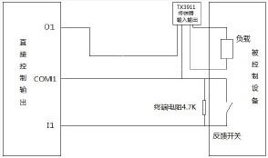 多线控制盘TX3520/TX6520