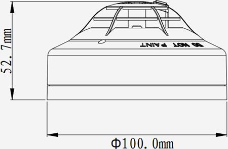 JTWB-ZOF-TX6112点型感温火灾探测器