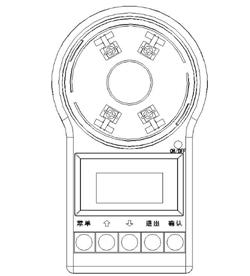 FF-BMQ-1电子编码器外观示意图