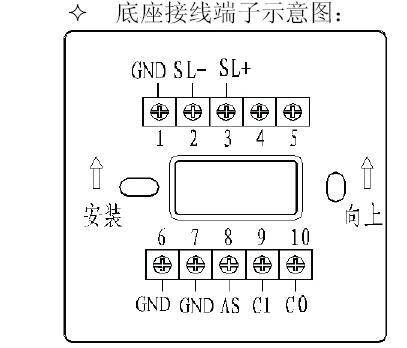 JBF5155输入/输出模块接线端子图