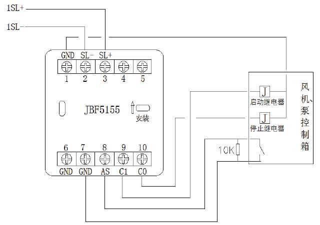 JBF5155输入/输出模块脉冲点动输出