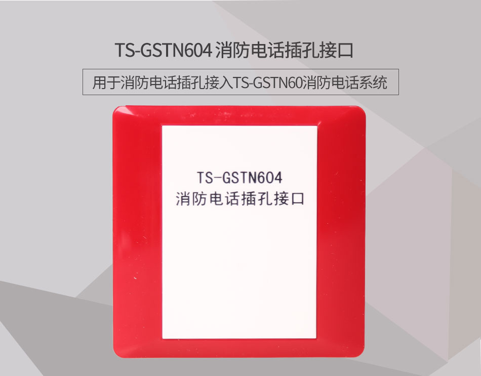 TS-GSTN604消防电话接口情景展示