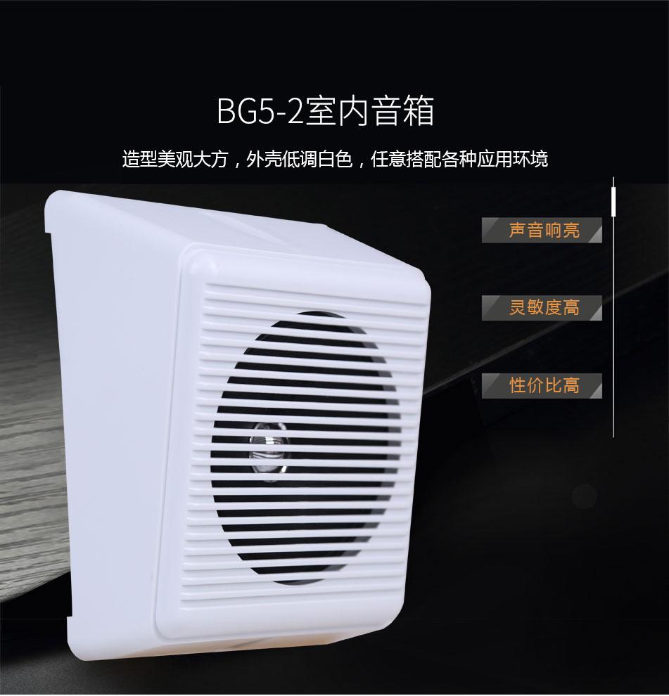 BG5-2室内音箱特点