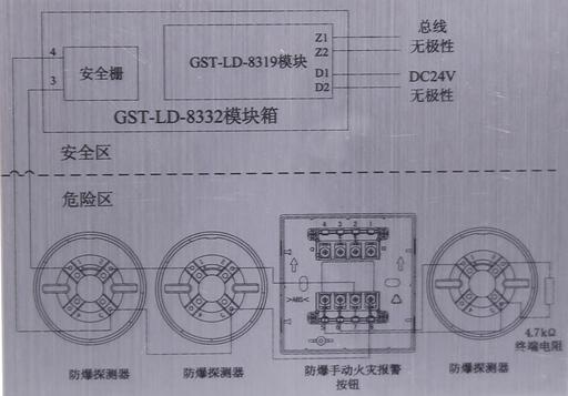 gst-ld-8332模块箱接线图