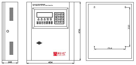 JB-QB-LD128FH可燃气体报警控制器