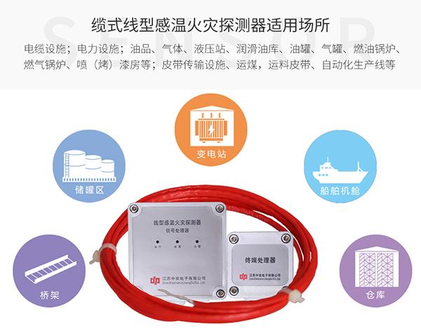 缆式线型感温火灾探测器