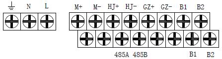 JB-QB-TS100N火灾报警控制器接线方法