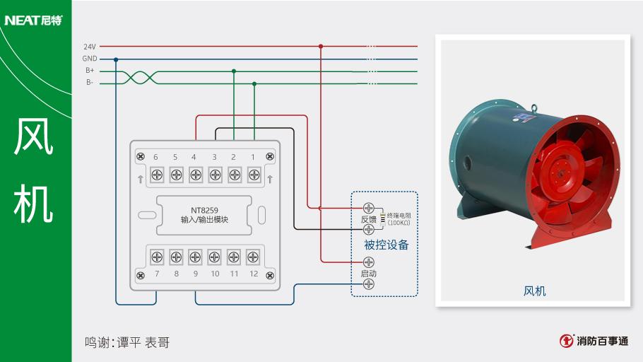 尼特nt8259输入/输出模块(控制模块)接线