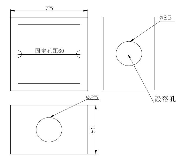 结构尺寸外形示意图