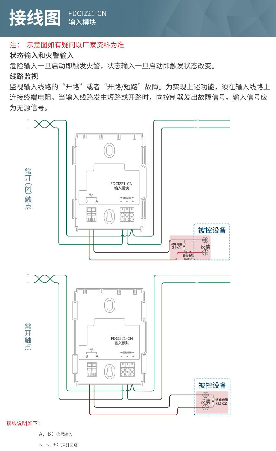 FDCI221-CN输入模块