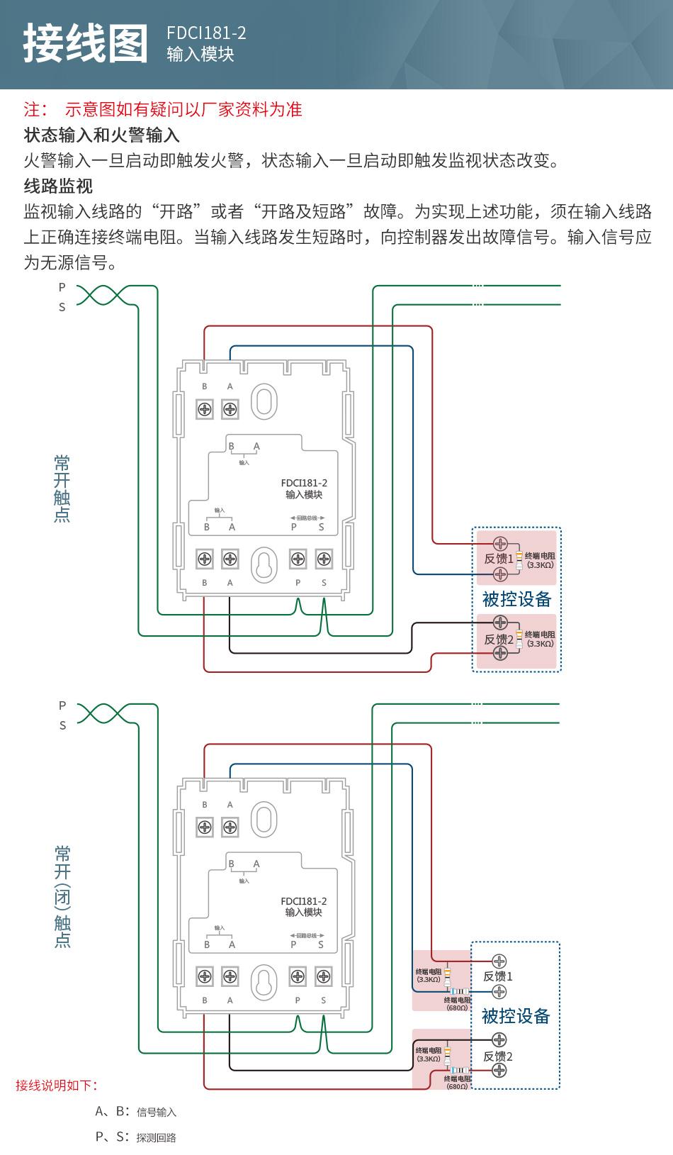 FDCI181-2输入模块