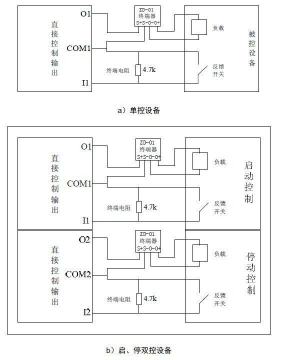 zd-01终端附件接线图