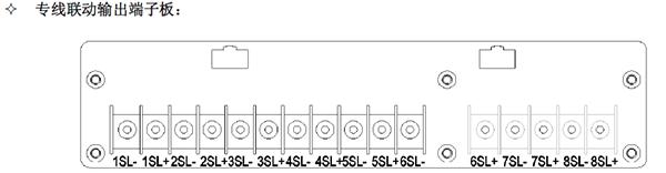 JB-TB-JBF-11SF输出端子板