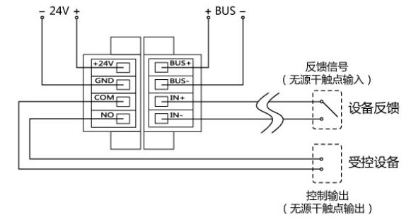 Trax31总线输入输出模块接线方式