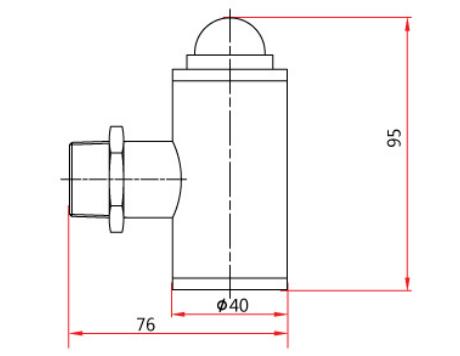 HS102防爆型小声光报警器外形尺寸