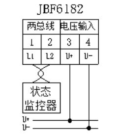 JBF6182电压信号传感器安装与接线