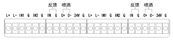 JBF5016气体灭火控制器端子接线示意图