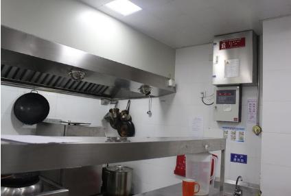 厨房动火离人预警系统