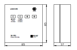 LD6800EH-1输入/输出模块