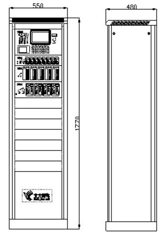JB-TG-JBF-11SF-H火灾报警控制器结构特征及尺寸